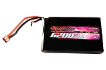 QuadroPower 6200mAh (4s) RC Lipo Battery - Flat