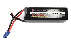 QuadroPower 6000mAh (6S) Lipo Battery