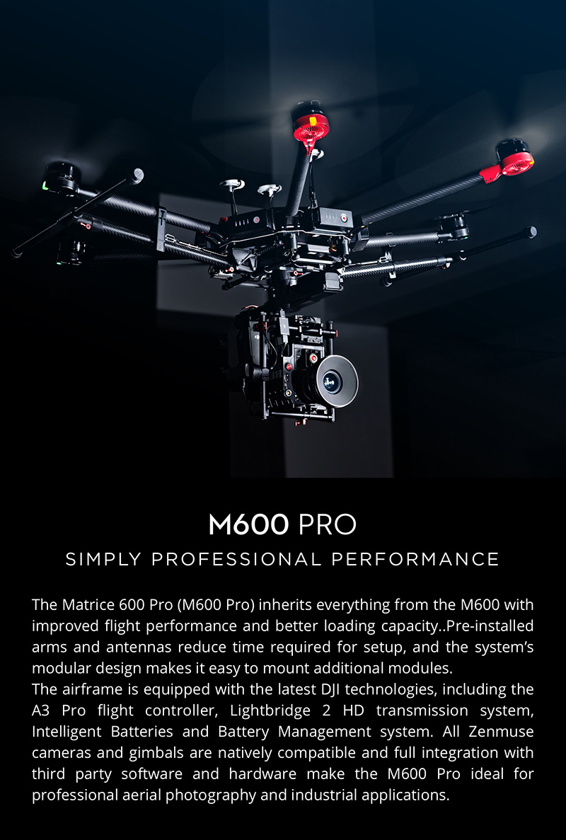 DJI Matrice 600 Professional Drone System