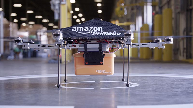 Amazon sets its sights on drone highways