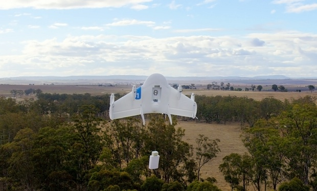 Google is testing drones in US airspace by piggybacking on Nasa exemption