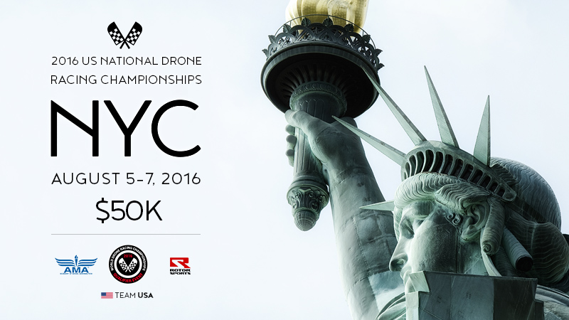 Drone Nationals is headed to New York City Aug 5-7, 2016