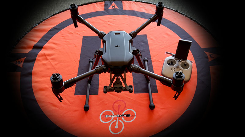 Quadrocopter receives one of the first DJI Matrice 200