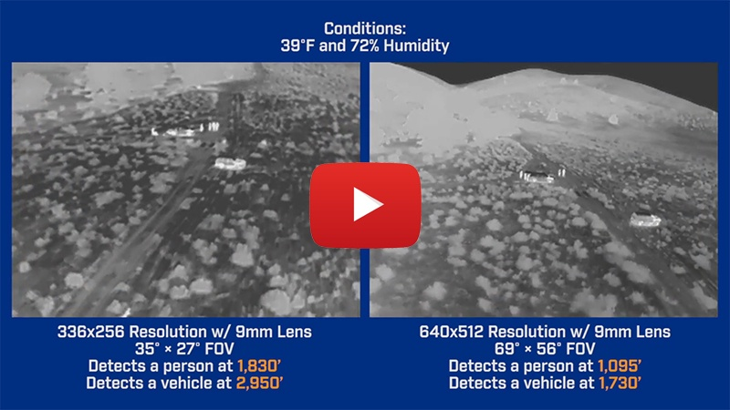 Need help deciding between resolutions and lens type on your thermal camera ?