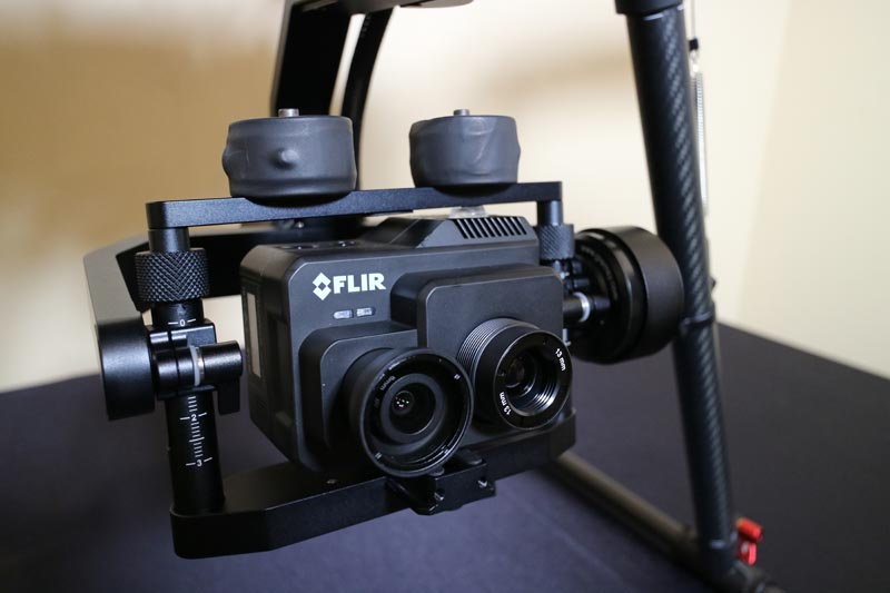Utilizing the FLIR Duo Pro R on the DJI M600pro