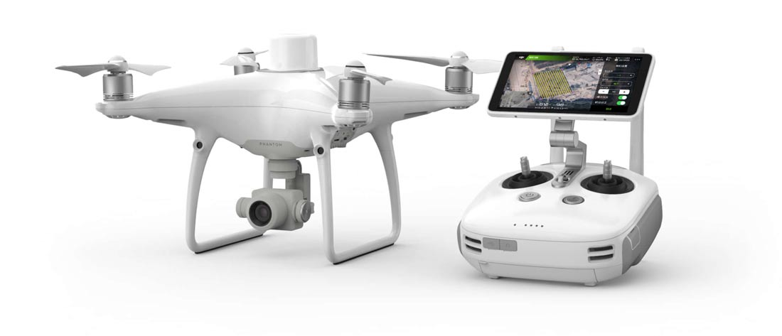 DJI Phantom 4 RTK Mapping Solution