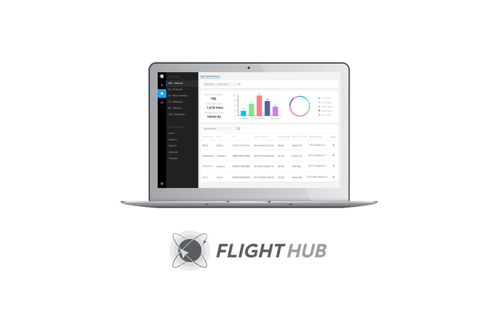 DJI FlightHub Live View Drone Software