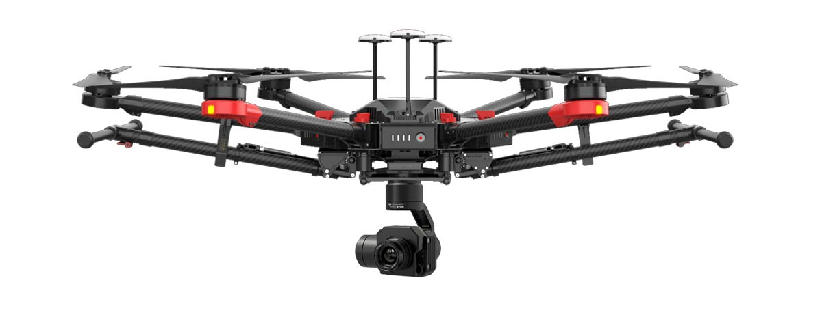 Emergency Services Drone Matrice 600 Thermal Imaging