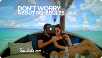 "Sandals Resorts ""No Worry, No Problem"""