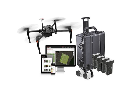 DJI M100 Smarter Farming Package Agriculture Drone