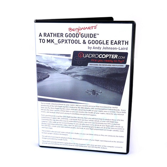 Beginners Guide DVD to MK_GPXTOOL & GoogleEarth